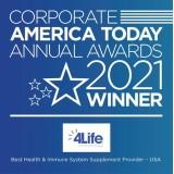 4Life получает награду от Corporate America Today